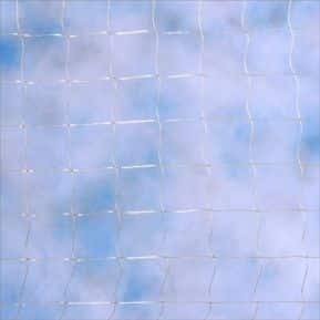 Feines transparentes Katzennetz Nylon 30 x 30 mm Maschenweite