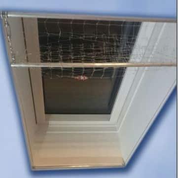 Katzennetz-Set für Dachfenster